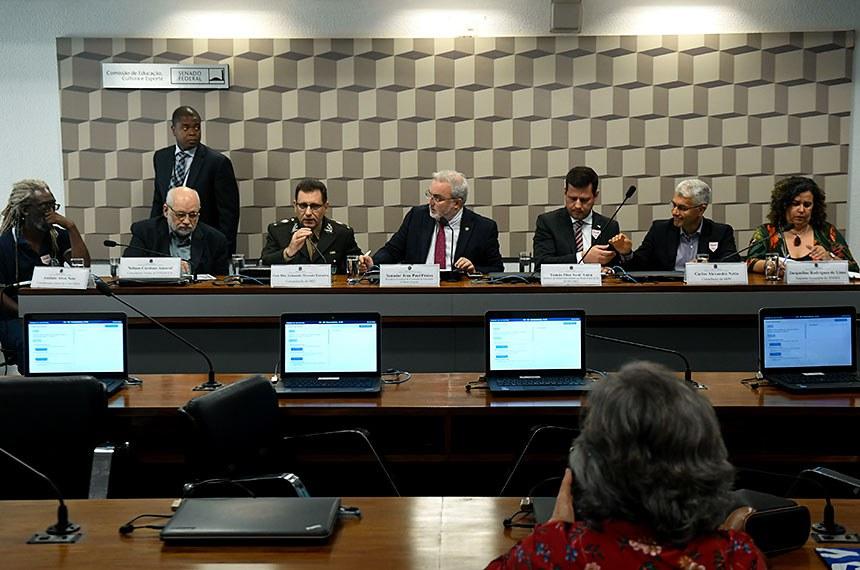 Comissão de Educação, Cultura e Esporte (CE) realiza audiência pública interativa para debater o programa