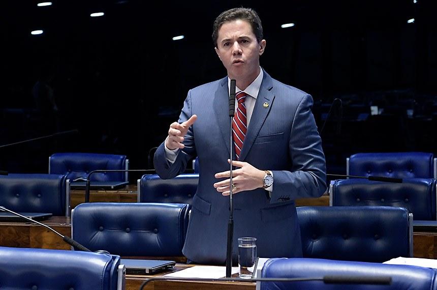 Plenário do Senado Federal durante sessão deliberativa ordinária.   À bancada, em pronunciamento, senador Veneziano Vital do Rêgo (PSB-PB).  Foto: Waldemir Barreto/Agência Senado
