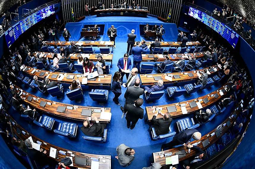 Plenário do Senado Federal durante sessão deliberativa ordinária. Ordem do dia.   À bancada, em pronunciamento, senador Rogério Carvalho Santos (PT-SE).  Foto: Marcos Oliveira/Agência Senado