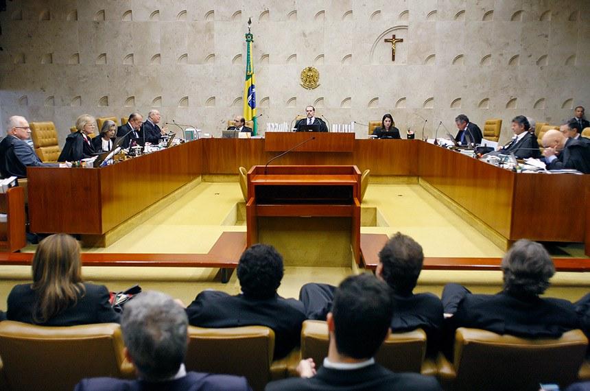 Sessão extraordinária em que julga as Ações Declaratórias de Constitucionalidade (ADC) 43, 44 e 54.  Votação sobre condenação em segunda instância. Foto: Fellipe Sampaio /SCO/STF  (07/11/2019)