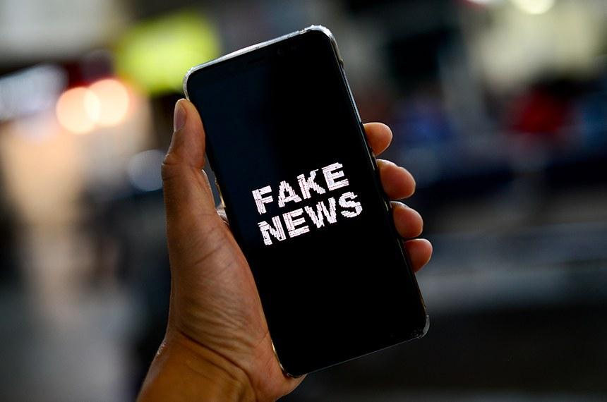 Os veículos de comunicação do Senado lançam campanha contra as fake news.  A intenção é conscientizar cada cidadão da importância de não divulgar notícias falsas.  Foto: Pedro França/Agência Senado