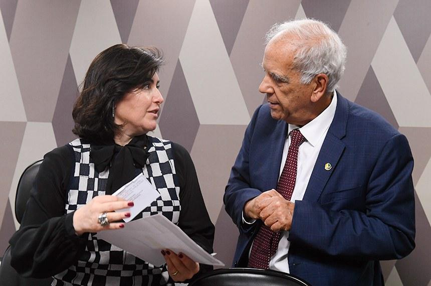 A presidente da CCJ, senadora Simone Tebet, pautou a proposta do senador Oriovisto Guimarães que muda a Constituição para permitir a prisão após a decisão de colegiado de tribunal