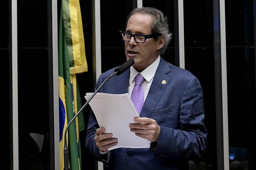 Pastore é o primeiro suplente da senadora Rose de Freitas, que sai de licença por quatro meses para tratamento médico