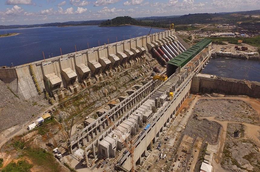 05.09.2017 Usina hidrelétrica de Belo Monte, no Pará.