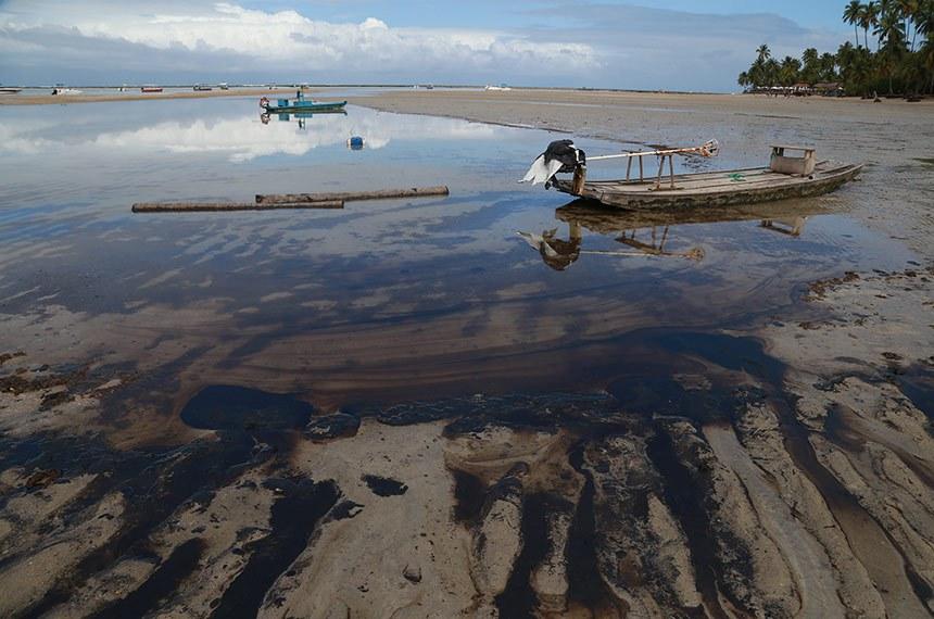 Assunto: Mancha de Óleo no litoral pernambucano. Prai dos Carneiros  Foto: Diego Nigro/SEI