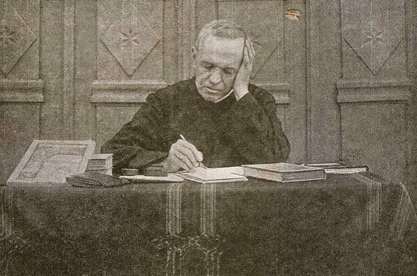 Em 1902 um padre suíço chamado Theodor Amstad criou um tipo novo de empresa no interior do Rio Grande do Sul uma cooperativa de crédito
