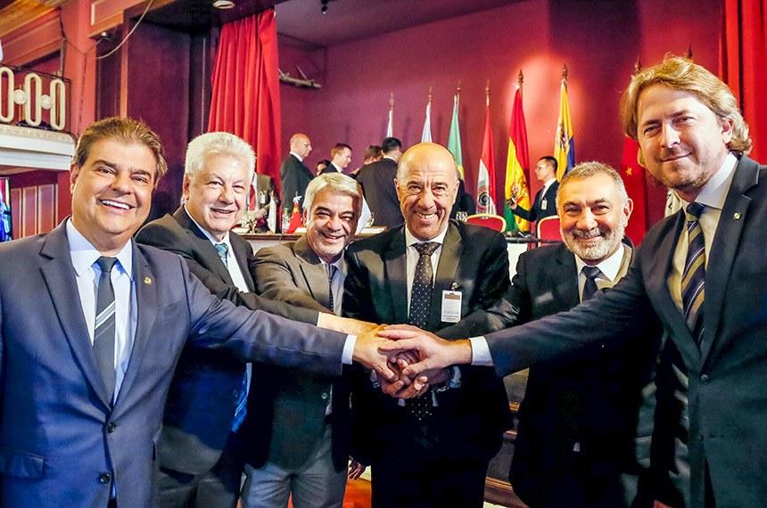 Montevidéu - Uruguai, 09/10/2019. Senador Humberto Costa, Líder do PT no Senador, durante a LXX  Sessão do Parlasul. Foto: Roberto Stuckert Filho