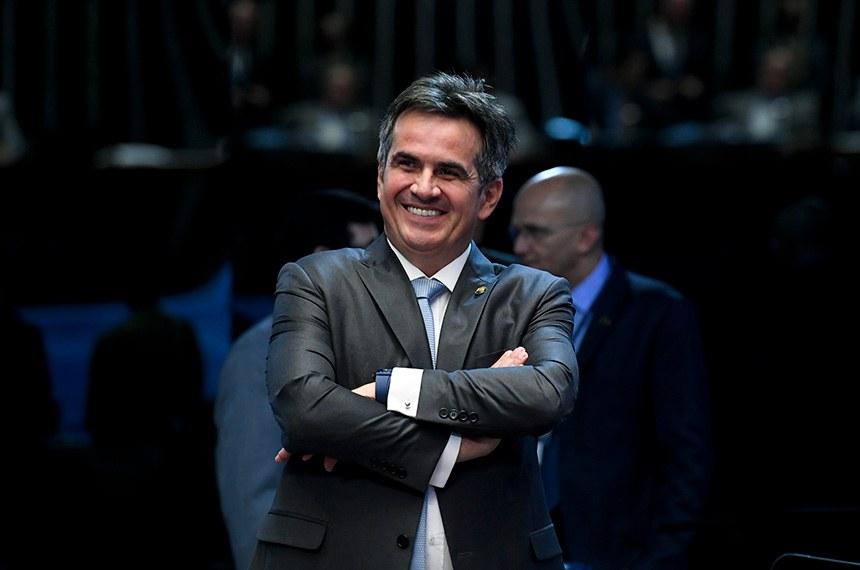 O senador Ciro Nogueira (PP-PI) comemorou a aprovação de seu projeto pelo Plenário; texto segue à sanção presidencial