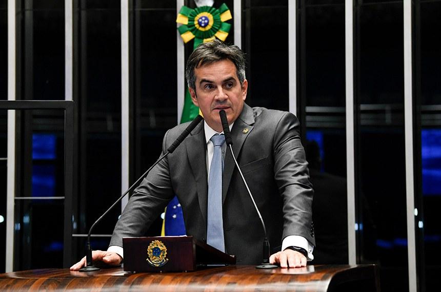Plenário do Senado Federal durante sessão deliberativa ordinária.   À mesa, em discurso, senador Ciro Nogueira (PP-PI).  Foto: Jefferson Rudy/Agência Senado