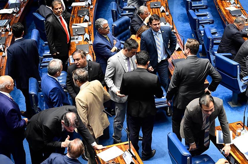 Plenário do Senado Federal durante sessão deliberativa ordinária.   Foto: Jefferson Rudy/Agência Senado