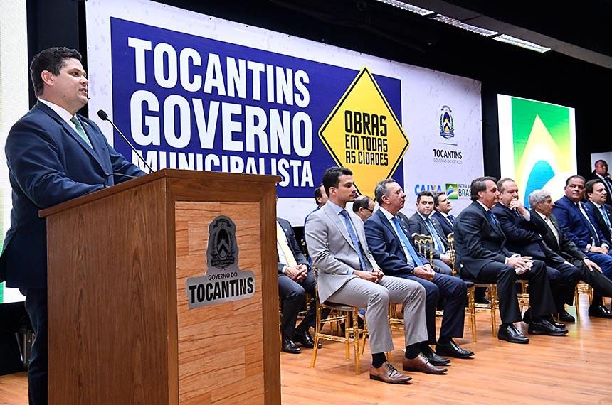 O presidente do Senado recebeu, nesta quinta-feira (12), o Título de Cidadão Tocantinense, honraria concedida pela Assembleia Legislativa do Estado do Tocantins