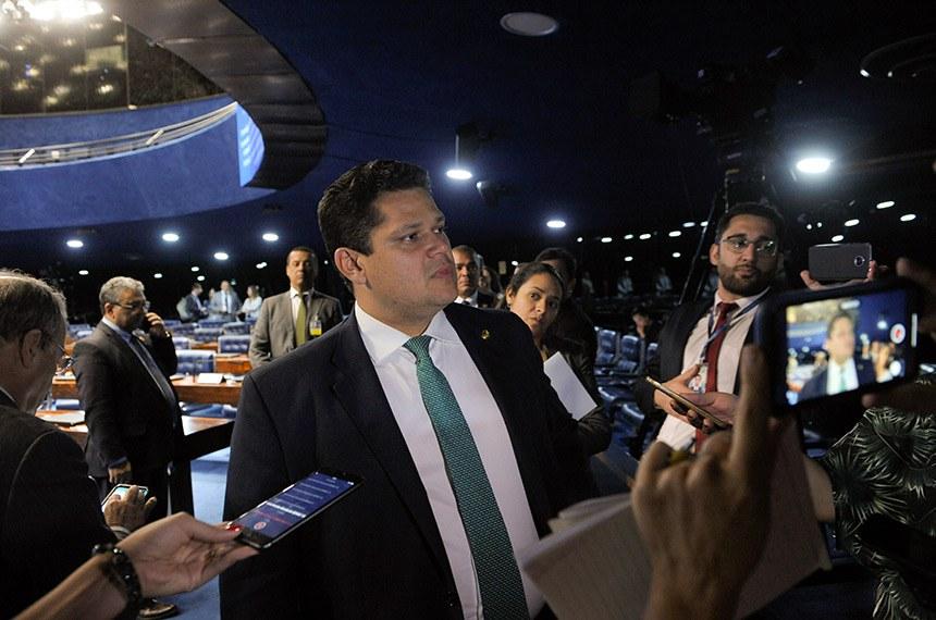 O presidente do Senado, Davi Alcolumbre, afirmou que falou com os líderes partidários para garantir a votação