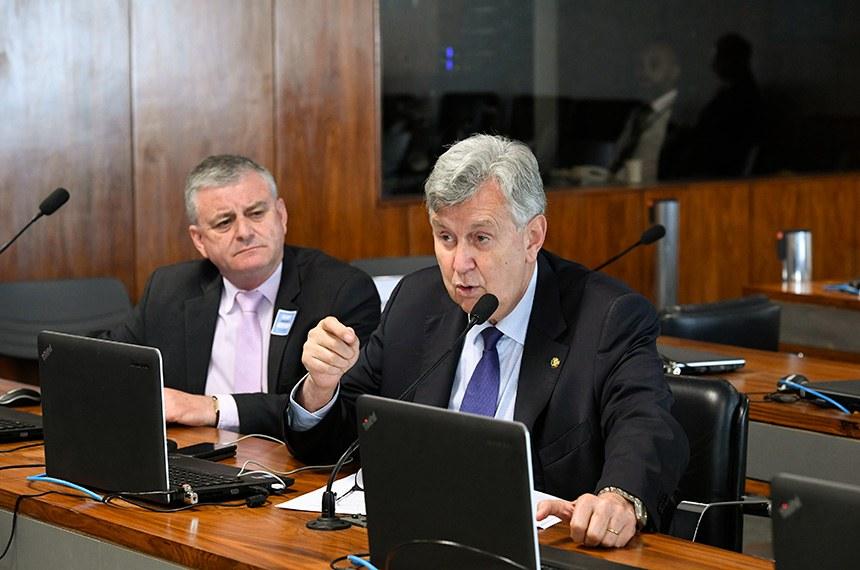 Comissão de Agricultura e Reforma Agrária (CRA) realiza reunião extraordinária para apreciação do relatório de Avaliação da Política Pública.   Foto: Roque de Sá/Agência Senado
