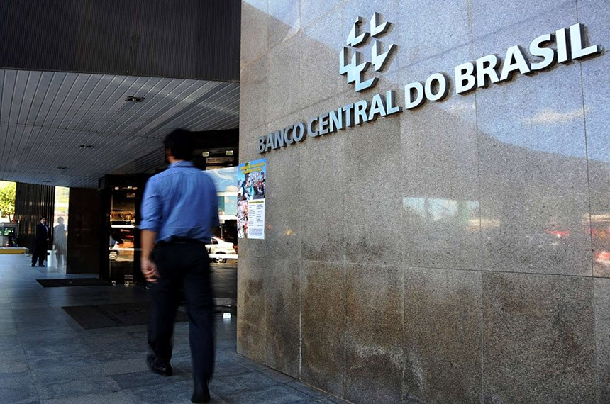 Entrada do Banco Central do Brasil.