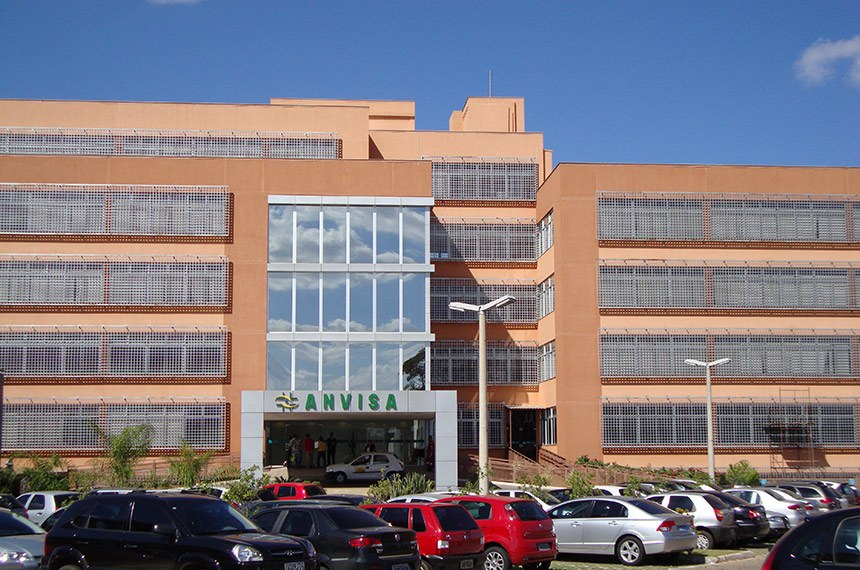Sede da Agência Nacional de Vigilância Sanitária, ANVISA.