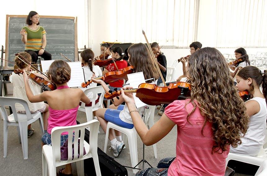 Projeto Guri Data: 03/09/2009 Local: Sao Paulo/SP Foto: Ciete Silvério/Governo do Estado de SP