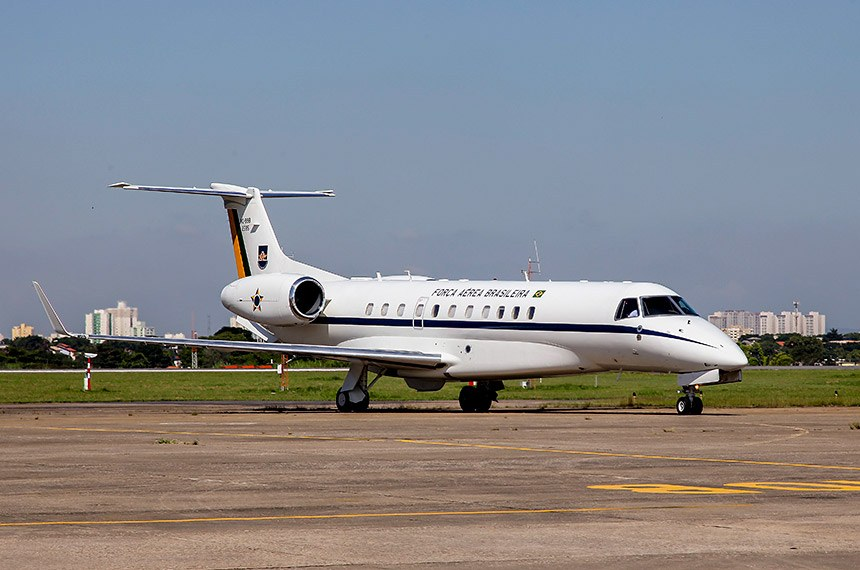 avião da FAB (Força Aérea Brasileira) usado pelo GTE (Grupo de Transportes Especiais) para o transporte de autoridades.