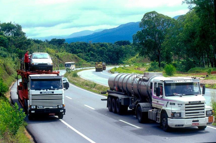 A Rodovia Fernão Dias, entre São Paulo e Minas, é uma das concessões federais a empresas privadas