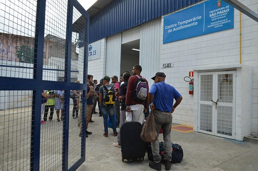 Chegada dos refugiados venezuelanos ao Centro Temporário de Acolhimento de São Matheus, zona leste de São Paulo.