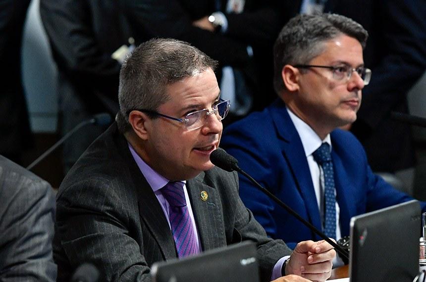 Comissão de Constituição, Justiça e Cidadania (CCJ) realiza   Foto: Geraldo Magela/Agência Senado