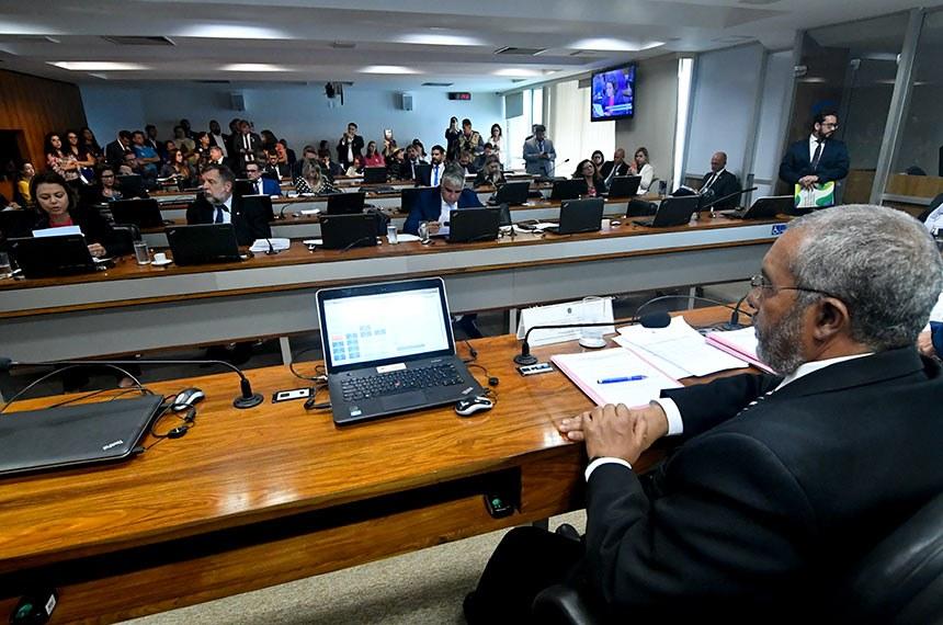 O relator do projeto na CDH, senador Paulo Paim (PT-RS), que preside o colegiado, foi favorável à aprovação