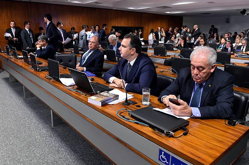 Comissão de Constituição, Justiça e Cidadania (CCJ) realiza   Foto: Roque de Sá/Agência Senado