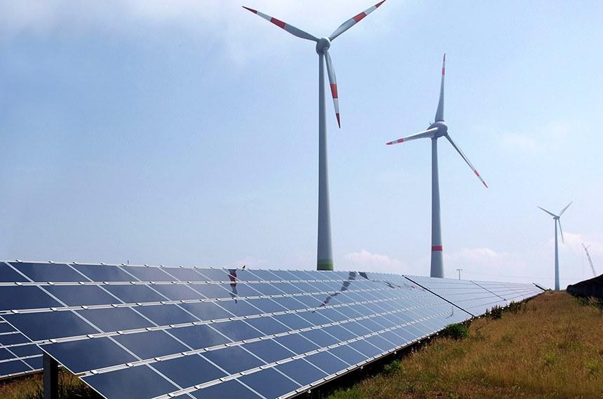 Schneebergerhof- parque de energia eólica na Alemanha.