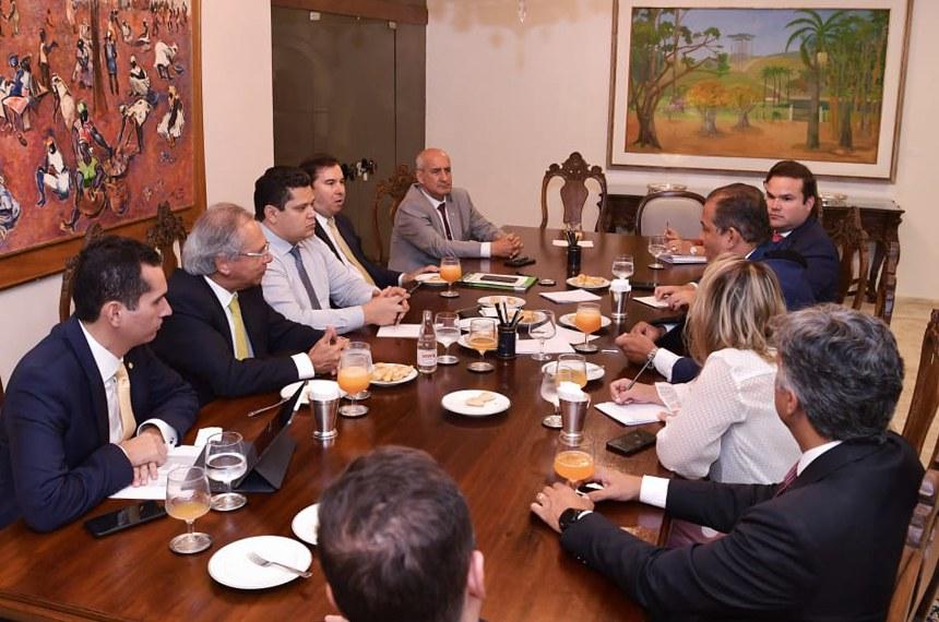 A reunião reforçou a relação de diálogo e transparência do Congresso com o Executivo