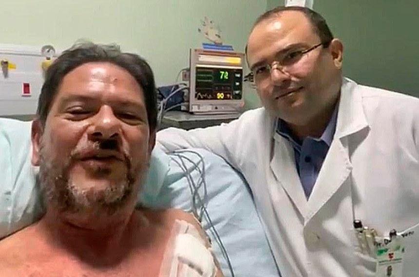 Sobral CE 20 02 2020-O senador Cid Gomes recebeu, no Hospital do Coração de Sobral, todos os cuidados necessários para que sua integridade física e sua vida fossem preservadas. Permaneceu na Unidade de Terapia Intensiva (UTI) durante 12 horas para acompanhamento de sua evolução clínica foto Twitter