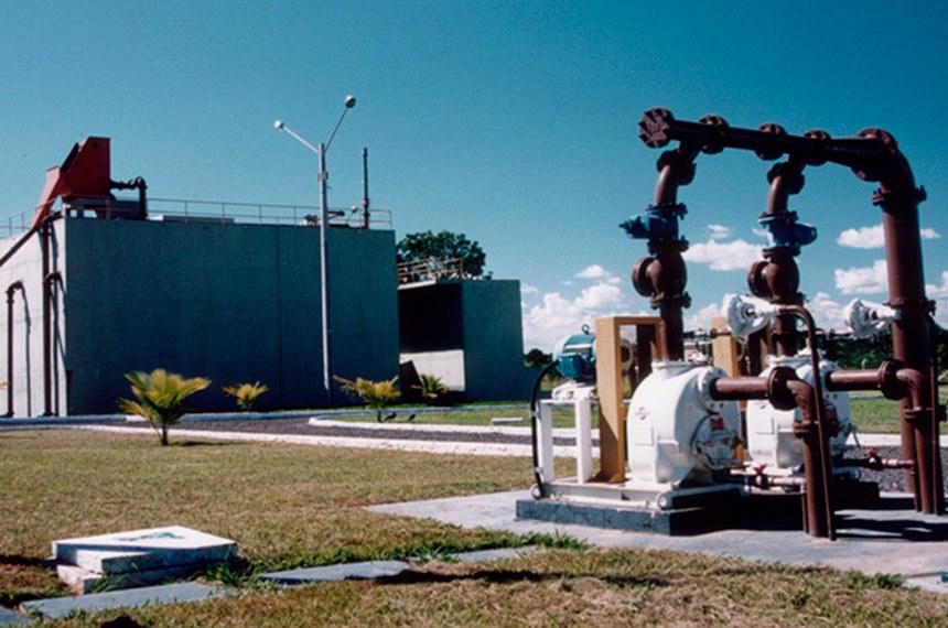 Estação de tratamento de esgoto Mulembá, Vitória - ES