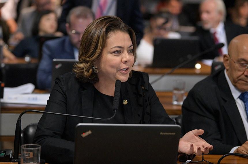 A senadora Leila Barros foi a relatora do projeto na comissão e sugeriu a sua aprovação sem alterações