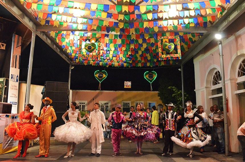 Festas do São João no Centro Histórico de Salvador.   Foto: Tatiana Azeviche/ Turismo Bahia