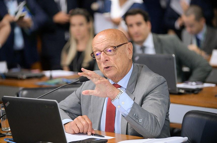 Senador Esperidião Amin demonstrou preocupação com posição do Itamaraty sobre plano de paz para Israel e Palestina