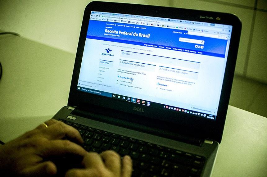 Brasília - Receita Federal libera o programa da Declaração do Imposto de Renda Pessoa Física 2016, ano-base 2015.   Foto: Marcelo Camargo/Agência Brasil