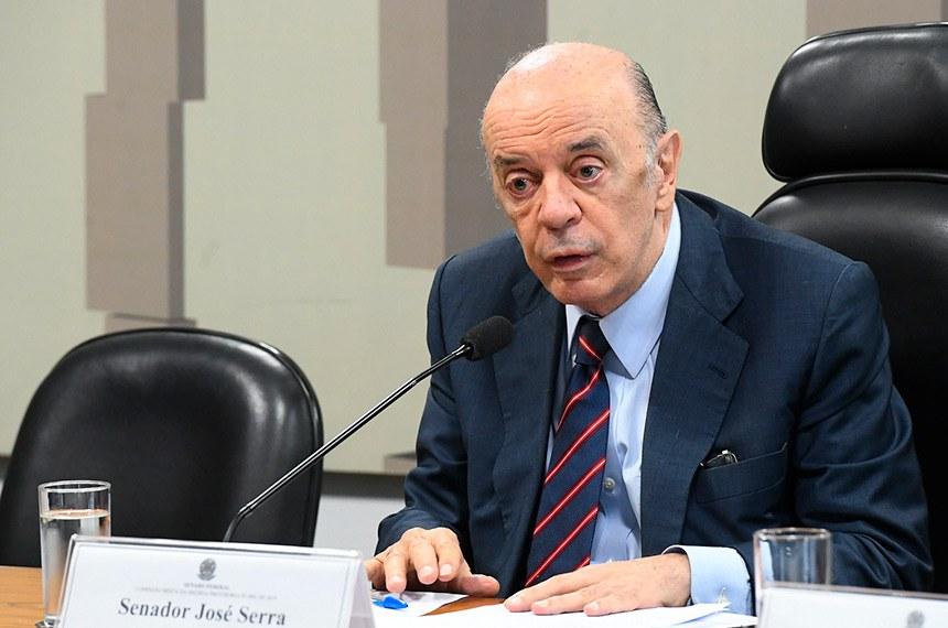 Para José Serra, descumprir a Lei de Reponsabilidade Fiscal para ações de emergência é aceitável diante da pandemia