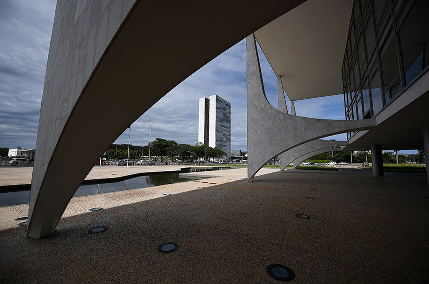 Estudantes da 8ª edição do Projeto Jovem Senador 2019 visitam Palácio do Planalto.  Foto: Pedro França/Agência Senado
