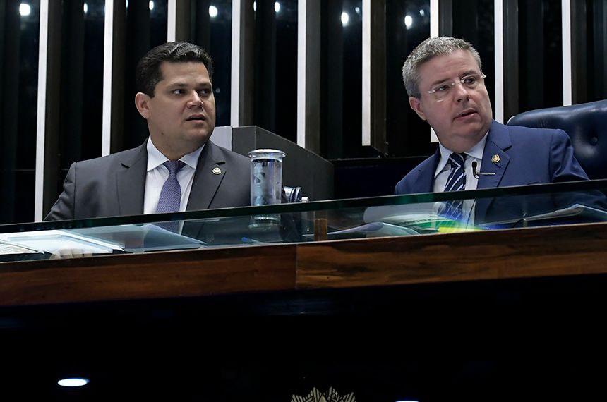 Davi (à esquerda) e Anastasia consideram grave pronunciamente de Jair Bolsonaro