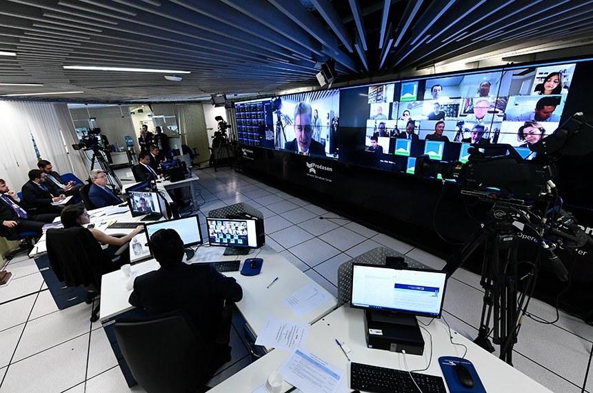 Líderes se reuniram remotamente por meio de sistema desenvolvido pelo Prodasen