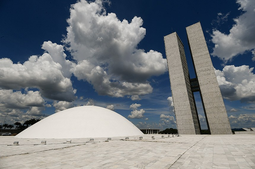 Sessão solene do Congresso Nacional destinada a inaugurar a 2ª Sessão Legislativa Ordinária da 56ª Legislatura.  Foto: Marcos Oliveira/Agência Senado
