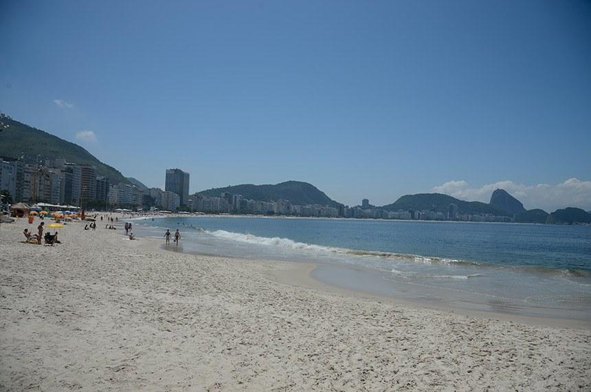 Sem turistas: praias do Rio ficaram quase desertas depois da quarentena