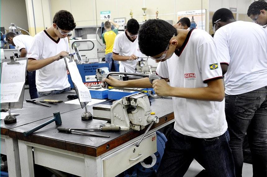Contribuição das empresas para o Senai teve alíquota reduzida para 0,5%