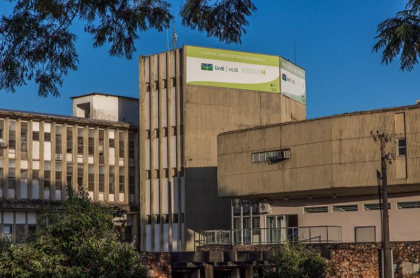 Fachada Hospital Universitário de Brasília (HUB-UnB-EBSERH)