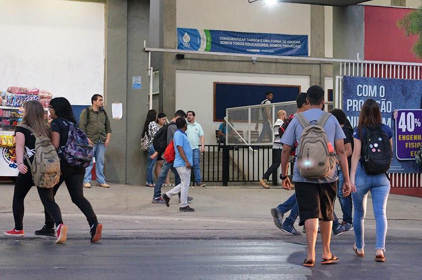 Especial Cidadania - Novo financiamento estudantil.   Faculdade Projeção (Sandu Norte - Taguatinga).   Foto: Edilson Rodrigues/Agência Senado