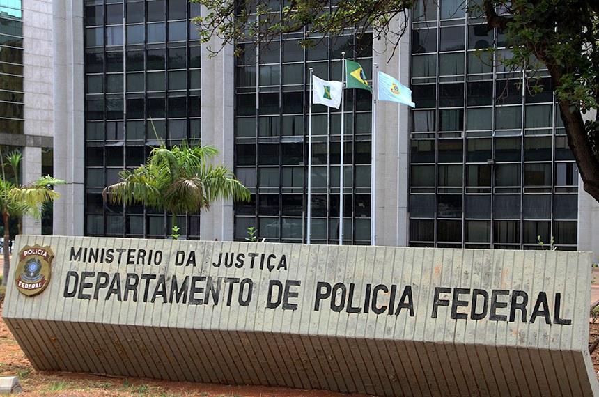 Fachada de Prédios Públicos - Departamento de Polícia Federal - DPF - Ministério da Justiça
