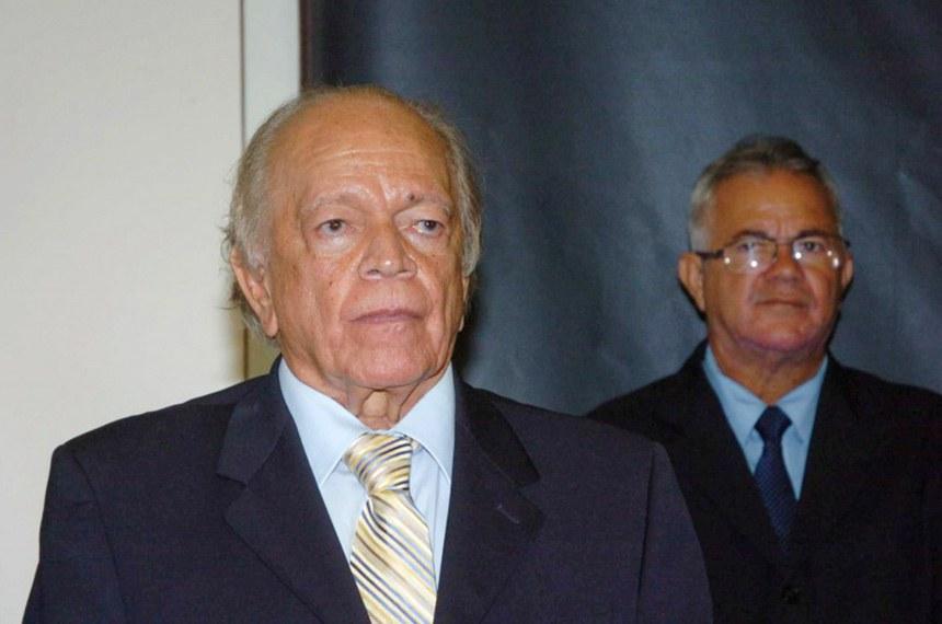 Ex-senador, ex-governador, ex-ministro e ex-senador Guilherme Palmeira