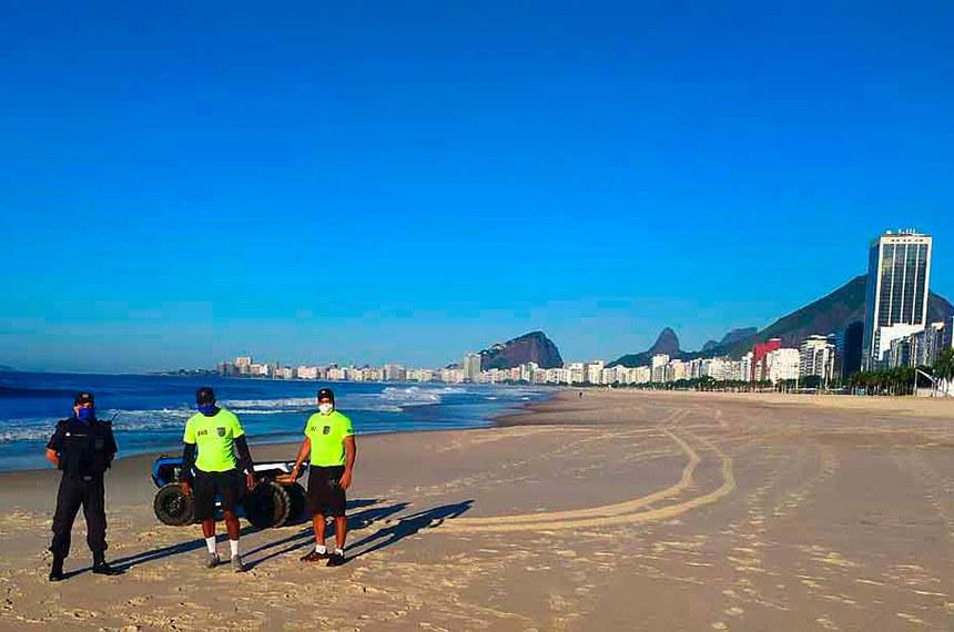 Visto do Morro do Corcovado, Rio de Janeiro, Brasil.