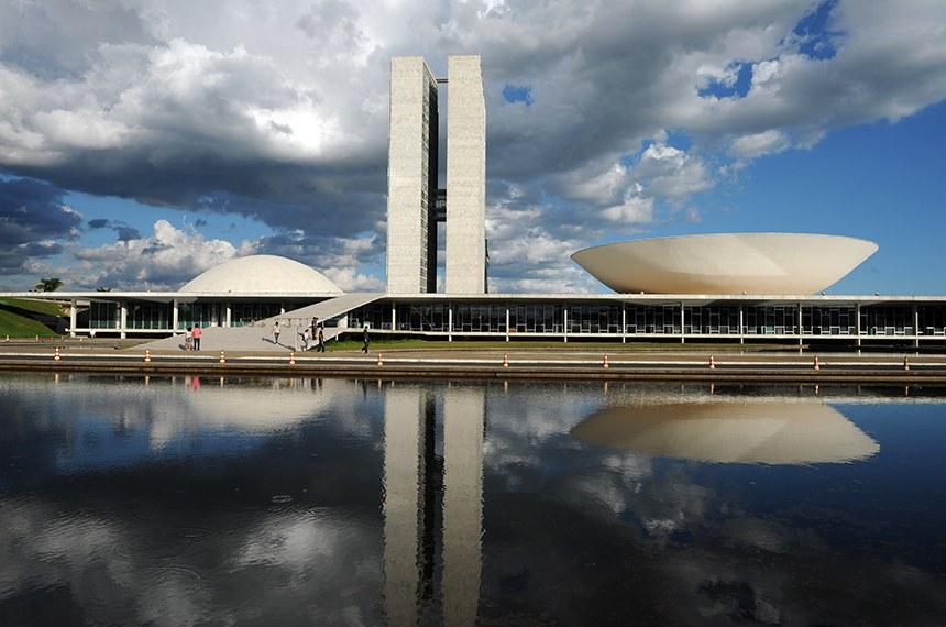 Prédio do Congresso Nacional.