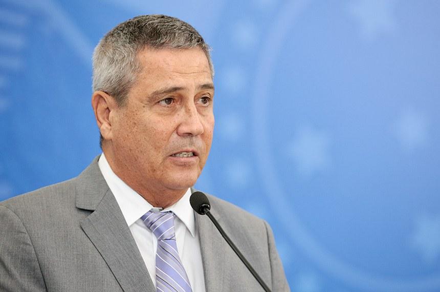 (Brasília - DF, 07/04/2020) Palavras do Ministros da Casa Civil, Braga Netto. Foto: Carolina Antunes/PR