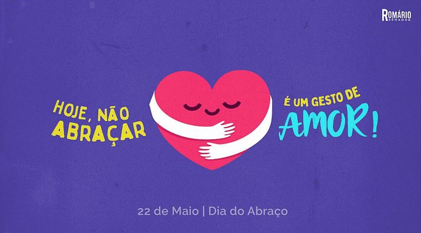 Ilustração no Twitter do senador Romário
