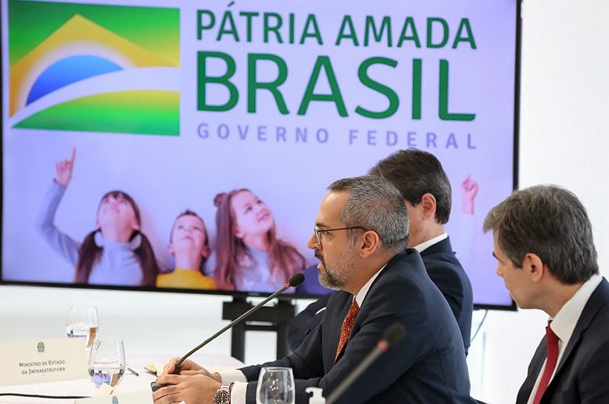 (Brasília - DF, 22/04/2020) - Reunião com Vice-Presidente da República e Ministros.  Foto: Marcos Corrêa/PR